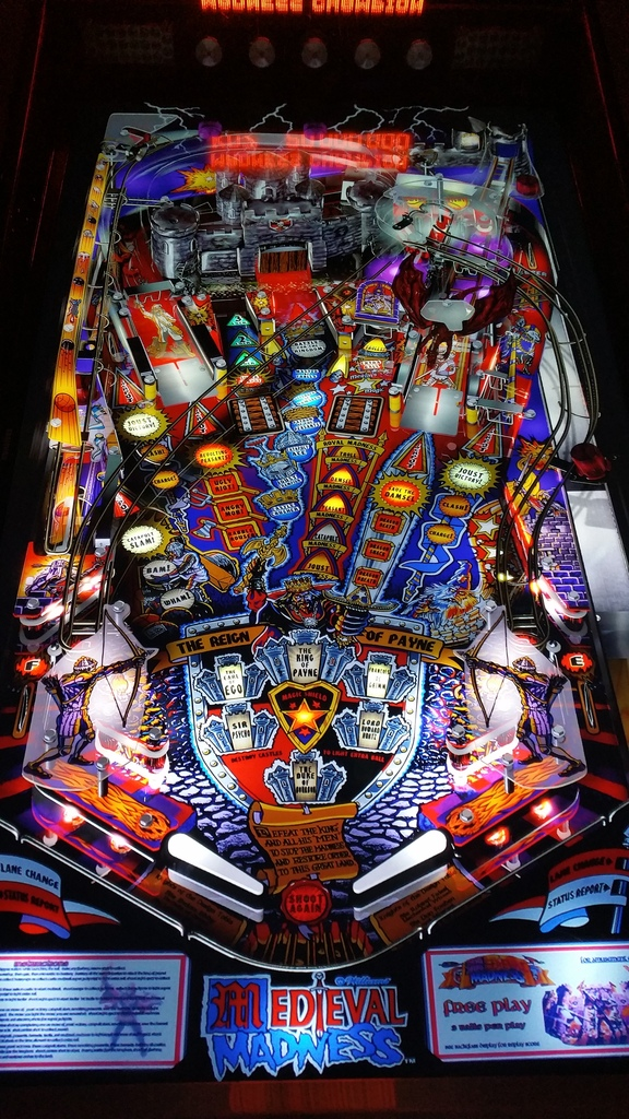Sold - Multipin Madness Virtual Pinball | Pinball info