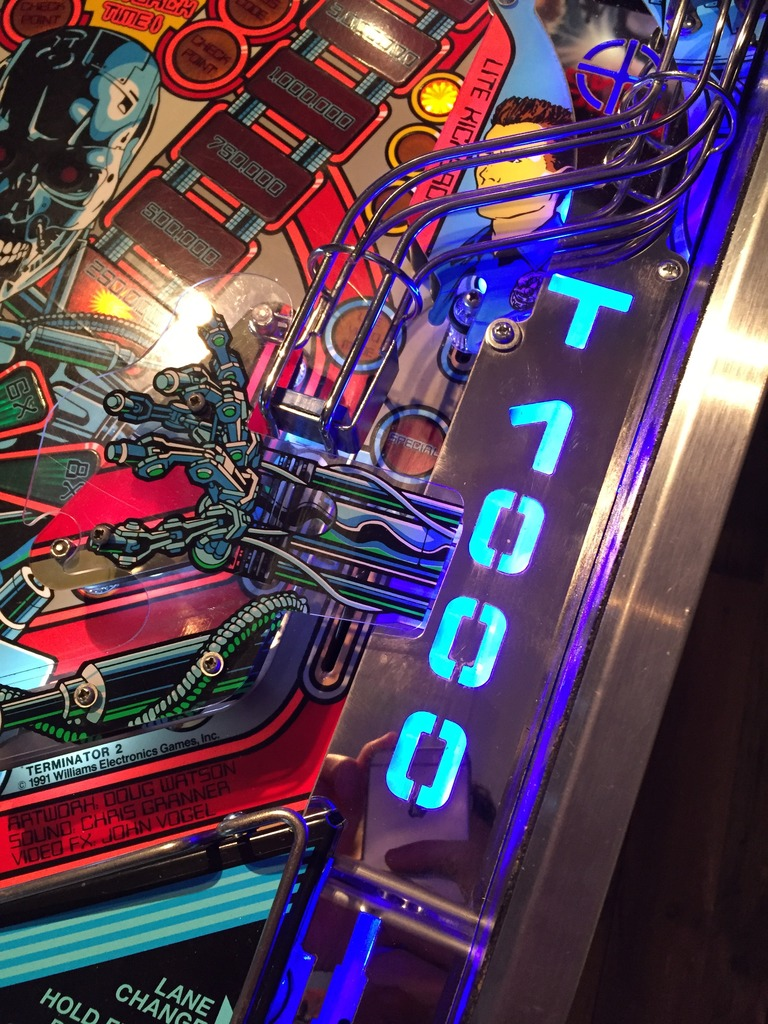 Led Advice For Led Noob Terminator 2 T2 Pinball Info