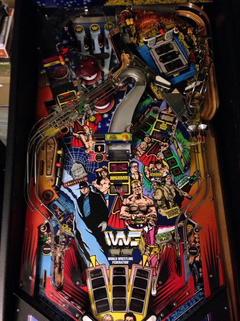 Sold Wwf Royal Rumble Pinball Info