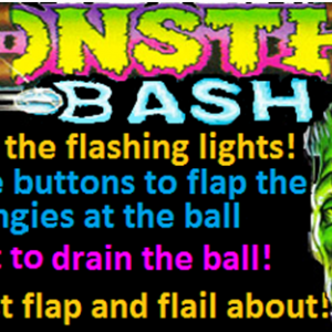 Monster Bash apron card